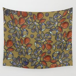 Gemstones 2 Wall Tapestry