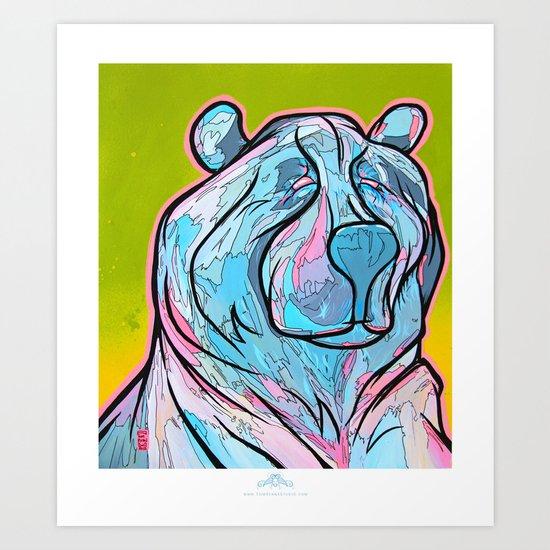 """""""ART-ik Bear"""" Art Print"""