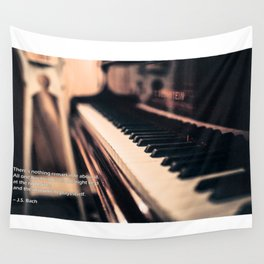 Bach's Piano Wall Tapestry