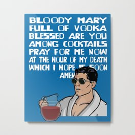 Bloody Mary Metal Print