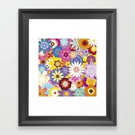 Floral Mix #1 Framed Art Print