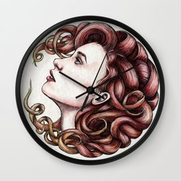 Hairball 01 Wall Clock