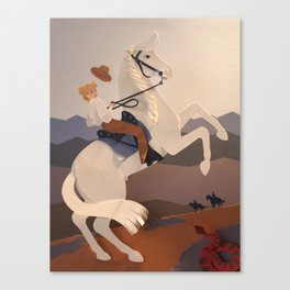 Riding Mt. Diablo Canvas Print