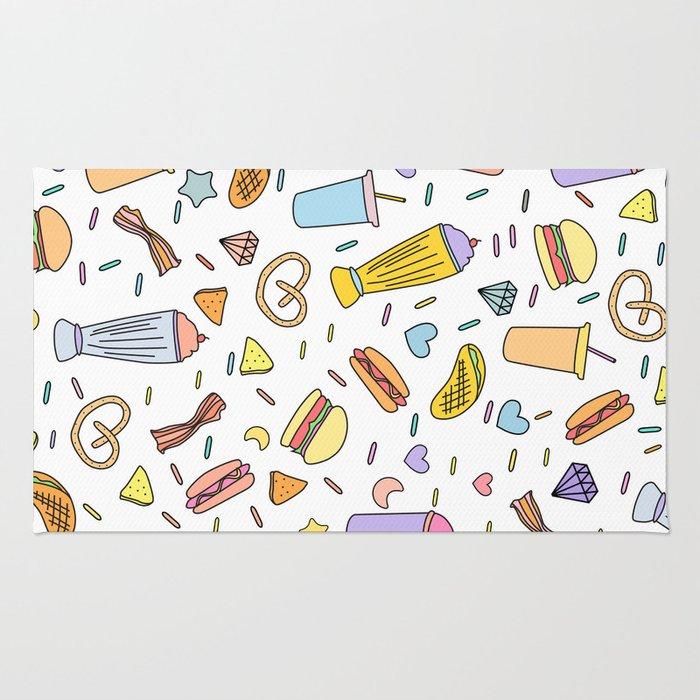 Fast food & Shakes Rug