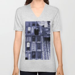 Motherboard Unisex V-Neck
