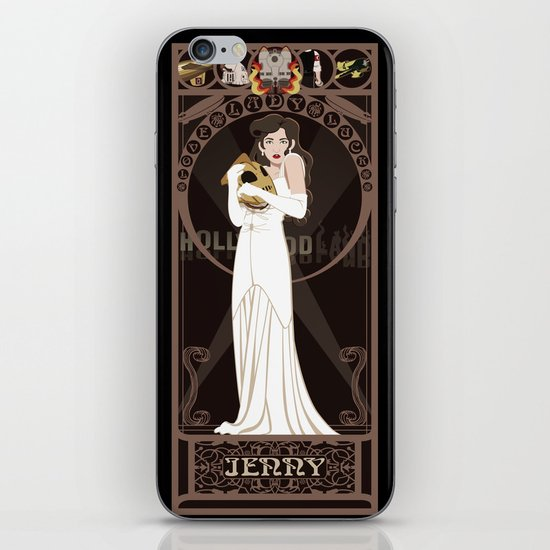 Jenny Nouveau - The Rocketeer iPhone & iPod Skin