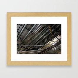 (p)i(p)e Framed Art Print