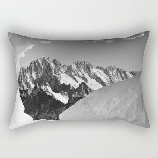 French Alps, Chamonix, France. (1) Rectangular Pillow