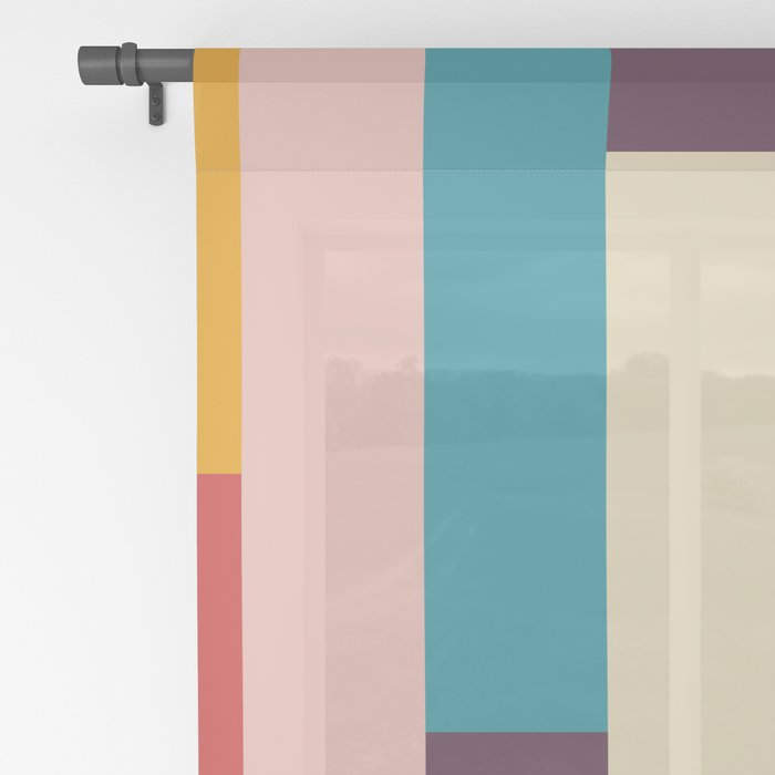Classic Retro Empusa Sheer Curtain