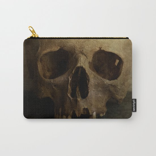 Male skull in retro style Carry-All Pouch
