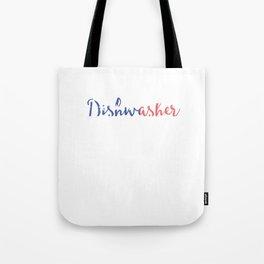 Dishwasher Tote Bag