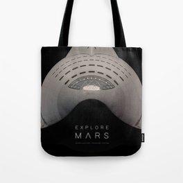 Explore Mars Tote Bag