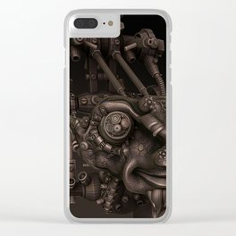 Dr Plugs Clear iPhone Case