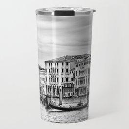 Gondola and tourists in Venice Travel Mug