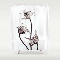 SKULL  X-RAY Shower Curtain