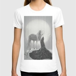 Our Hearts In the Moonlight  T-shirt