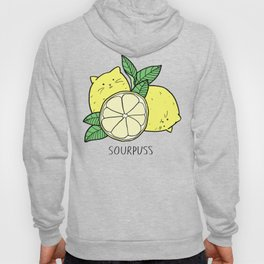 Sourpuss (colourised) Hoody