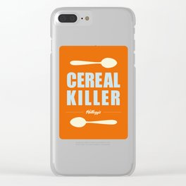 Spoon The Cereal Killer Clear iPhone Case
