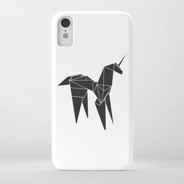 Blade R. Unicorn, Origami Artwork for Wall Art, Prints, Posters, Tshirts, Women, Men, Kids iPhone Case