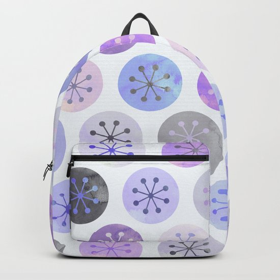 Watercolor Lovely Pattern VI Backpack