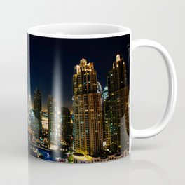 Dubai By Night Coffee Mug