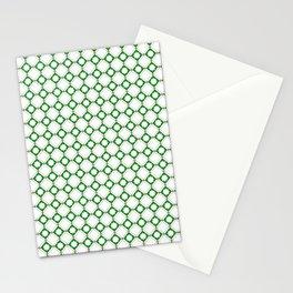 Green oriental pattern - seamless orient design Stationery Cards