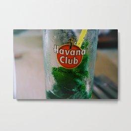 Havana Club Mojito Metal Print