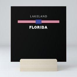 Lakeland Florida Mini Art Print