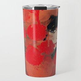 Ma rose à moi Travel Mug