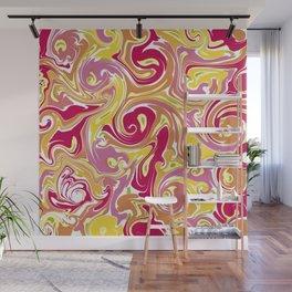 Exploring Liquidity - work 3 Wall Mural