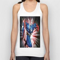 captain silva Tank Tops featuring Captain.... by wOlly