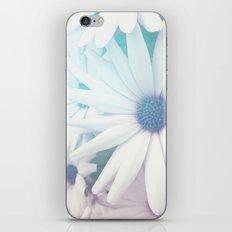 Glow-Blue1 iPhone & iPod Skin