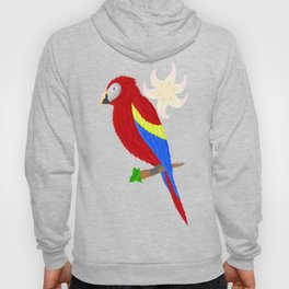 red Macaw Hoody