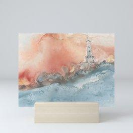 Storm at North Manitou Island Shoal Mini Art Print