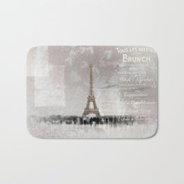 PARIS Collage Bath Mat