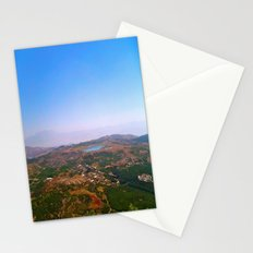 On the Mountain Top  Stationery Cards