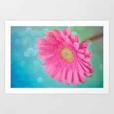Pink is my new obsession  Art Print