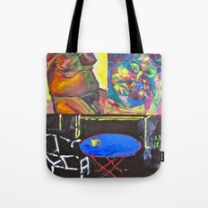 Chaotic Concentration Tote Bag