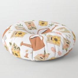 Things to Grow - Garden Seeds Floor Pillow