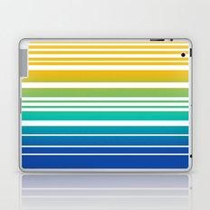 Bay Ombre Stripe: Sunrise Laptop & iPad Skin