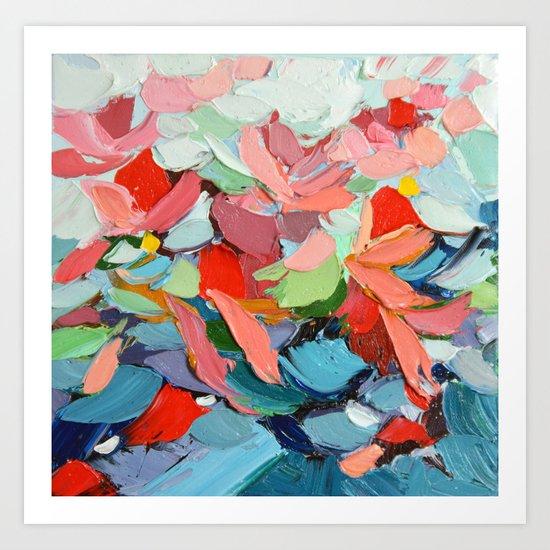 Winter's Bouquet Art Print