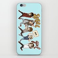 kendrawcandraw iPhone & iPod Skins featuring Everybody Wanna by kendrawcandraw