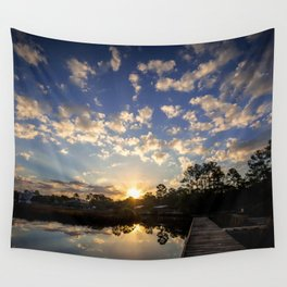 Mornings Embrace Wall Tapestry
