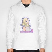 telephone Hoodies featuring Telephone by Jaimie Hutton
