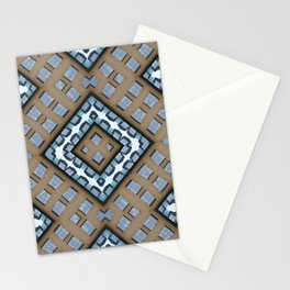 Mirror Buildings Stationery Cards