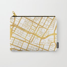 PERTH AUSTRALIA CITY STREET MAP ART Carry-All Pouch