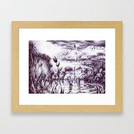 La Perseveranza Framed Art Print