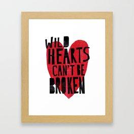 Wild Hearts Framed Art Print