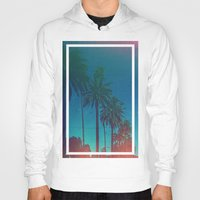 los angeles Hoodies featuring Los Angeles. by Daniel Montero