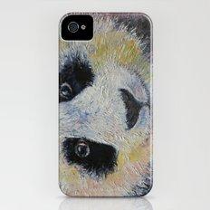 Panda Smile Slim Case iPhone (4, 4s)